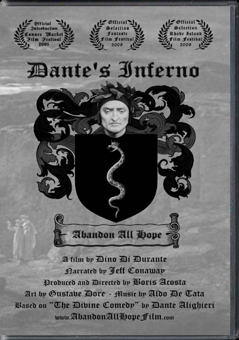 Click here to buy Dante's Inferno - Abandon All Hope DVD